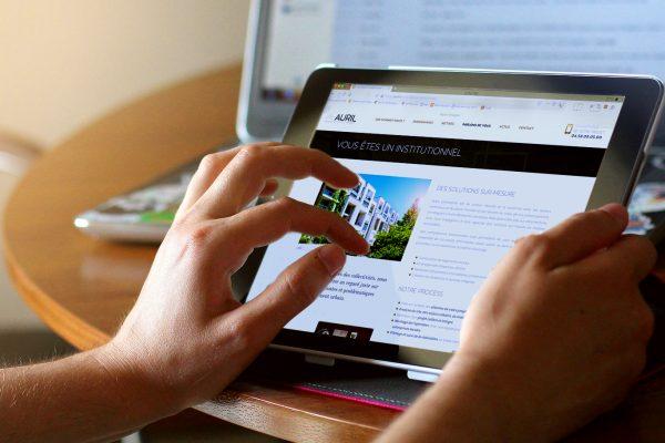 Site Internet Auril Tablette