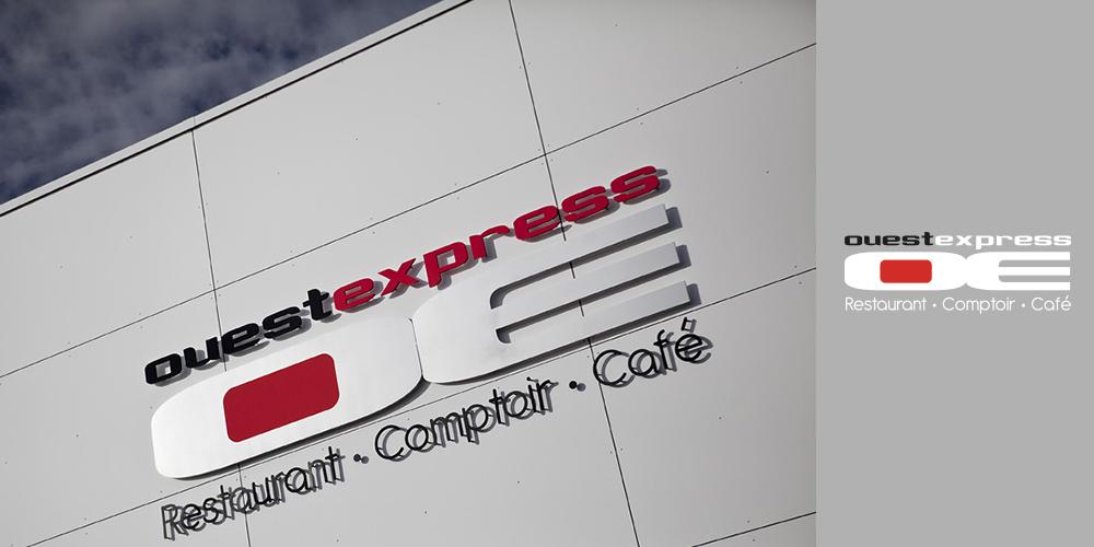Enseigne Ouest Express Bocuse