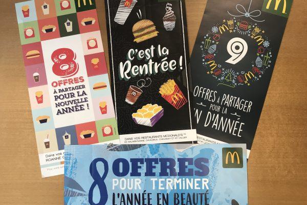 Mailing McDonald's