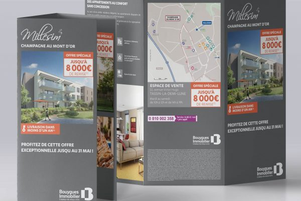 Tract Bouygues Immobilier Lyon