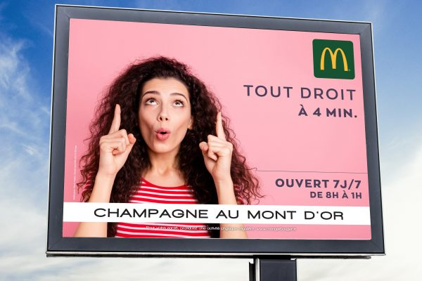 Affiche Longue Conservation McDonalds