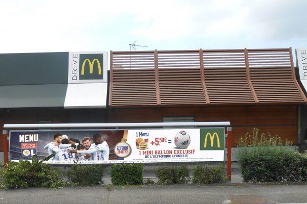 Signalétique extérieure McDonald's