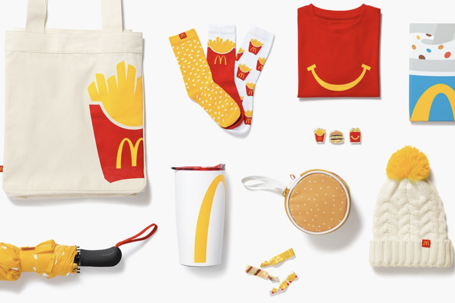 McDonald's lance son e-shop